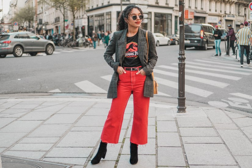 Red Hot Culotte Pants